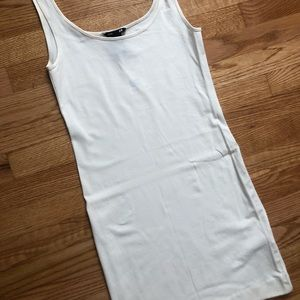 H&M Dresses - Fitted white dress